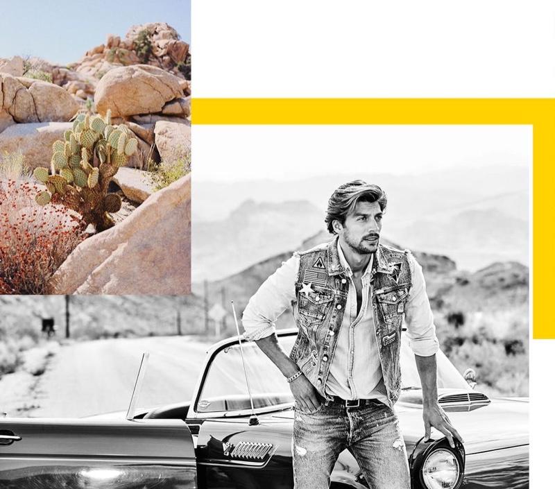 Mojave: Mattia, Simone + More Star in GUESS Spring '20 Campaign