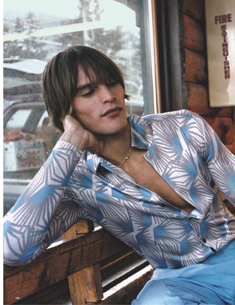 Wanderer: Parker van Noord for British GQ Style
