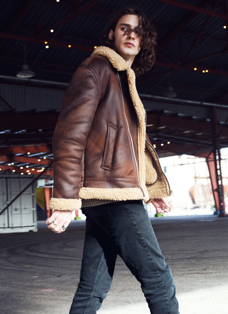 Elite Toronto model Reid Macmaster appears in a new photoshoot.