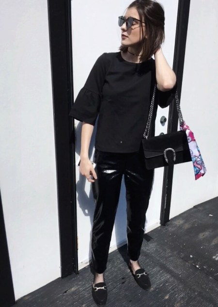 How To Style Vinyl Pants Fashion Tips Fashion Itinerary