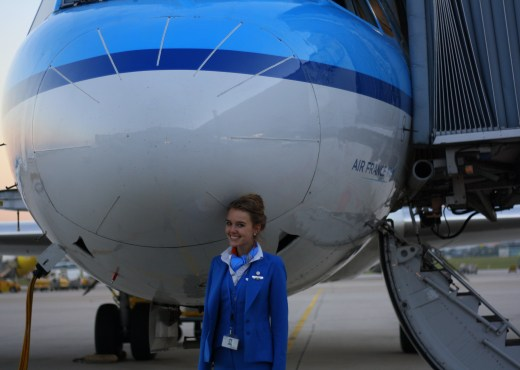 stewardess, flight attendant