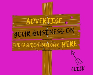 A banner advertisement on the Fashion Parlour