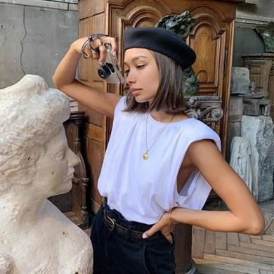 Muscle Tees The Padded Shoulders T-shirts Inspo