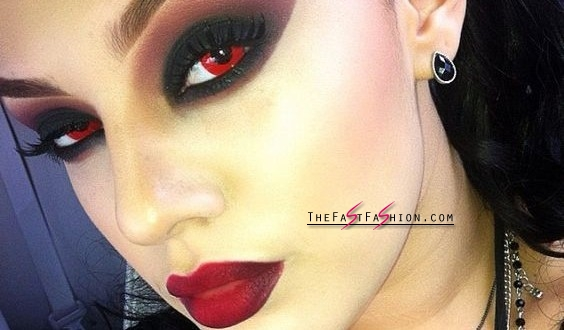 Red Halloween Colored Contacts 14 Hottest Photos On