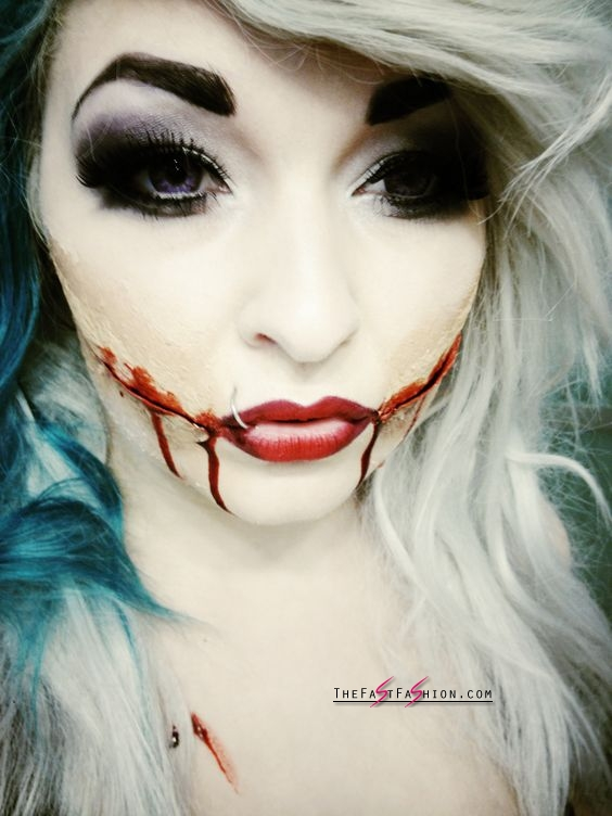 30 Halloween Makeup Ideas With Halloween Contacts You Need