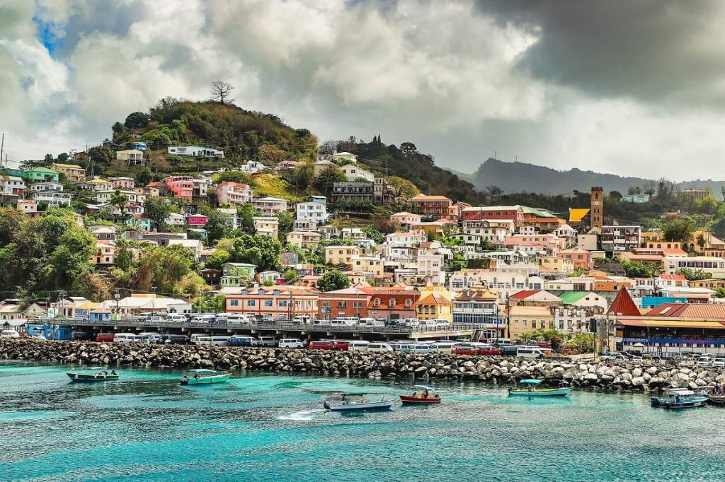St. George The capital city of Grenada