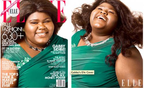 Gabourey Sidibe Elle Cover