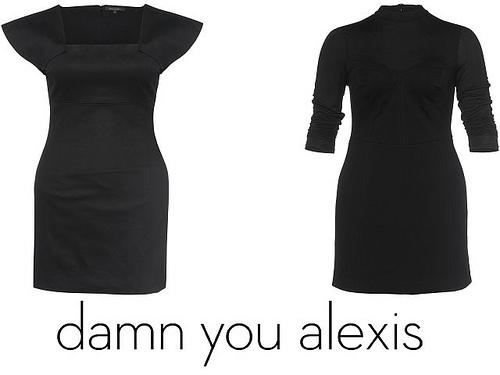 damn you alexis