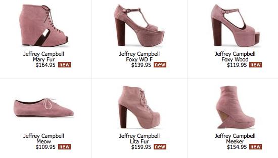 jeffrey campbell pink