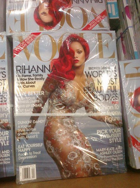 Rihanna's American Vogue Cover