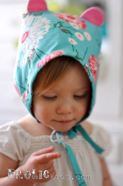 Owelette Collection Baby Bonnet