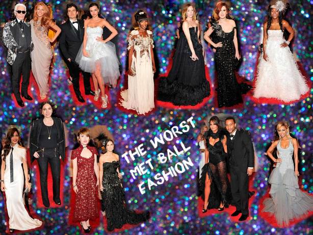 The Worst Dressed at the Met Ball 2011