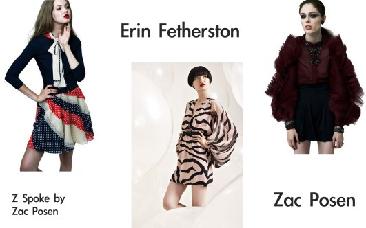 z spoke by zac posen,zac posen, erin fetherston