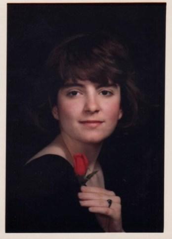 Tina Fey's Senior Portrait