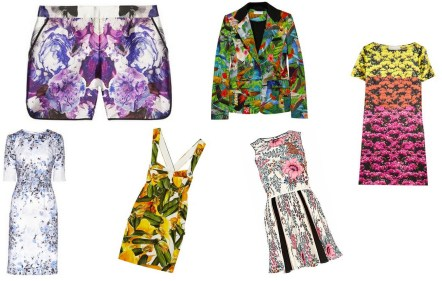 Floral Trends SS 12