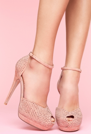 Shop Nasty Gal Midler Platform Pump