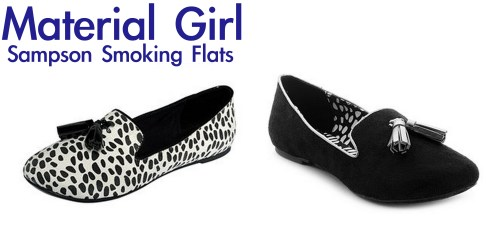material girl sampson smoking flats