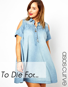 ASOS Curve Denim Dress