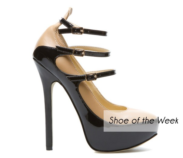 Maricruz platform pump from Shoedazzle