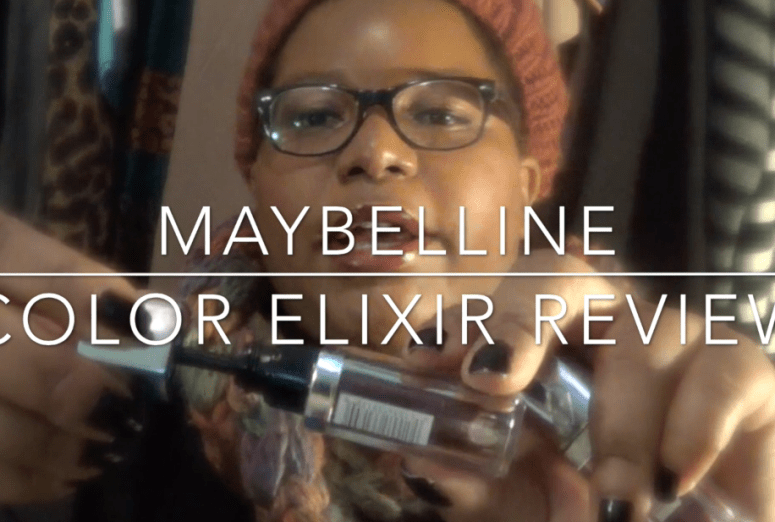 Maybelline Color Elixir Review