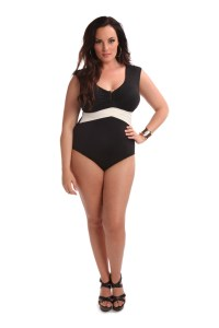 Rita One Piece Swimsuit – Black