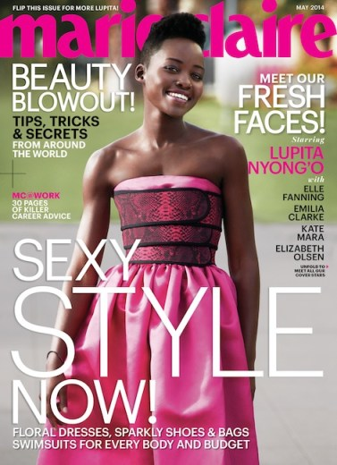 Lupita Nyong'o Covers Marie Claire