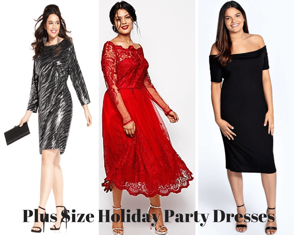 My Favorite Plus Size Holiday Party Dresses - The Fat and Skinny ...