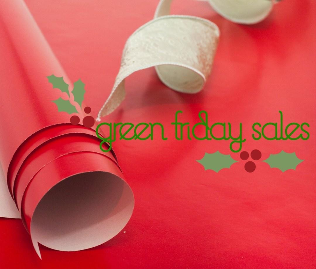 green friday sales