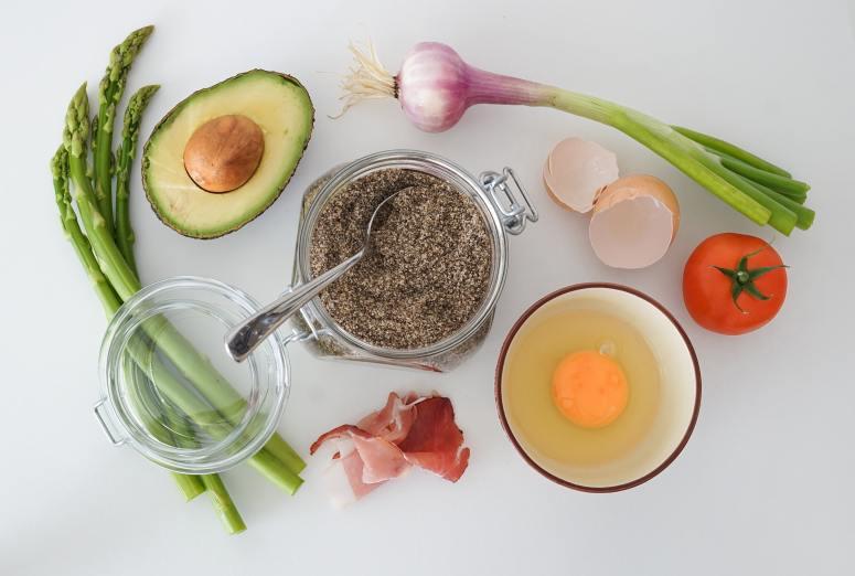 avocado, asparagus, clean eating