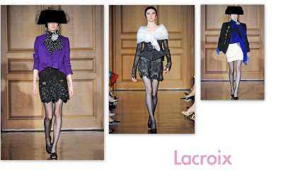 Christain Lacroix Fall 2009 Couture
