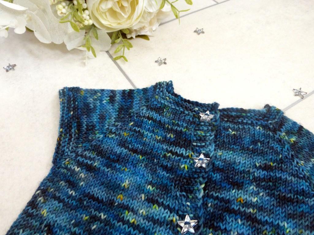 Sweetpea Cardigan Lite   www.thefatedknitter.co.uk