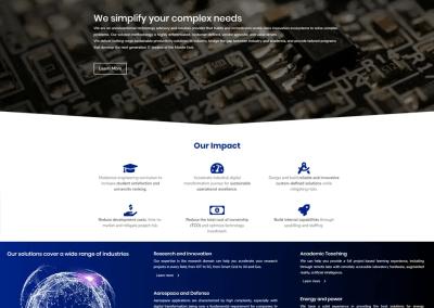SAAB RDS – Web development and digital marketing