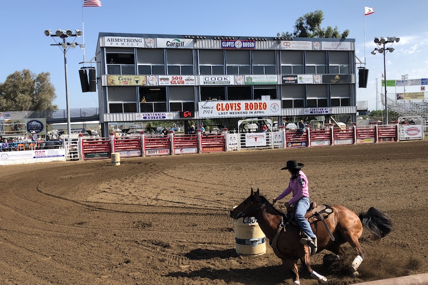 Breaking Clovis Rodeo Celebrates 104 Years The Feather