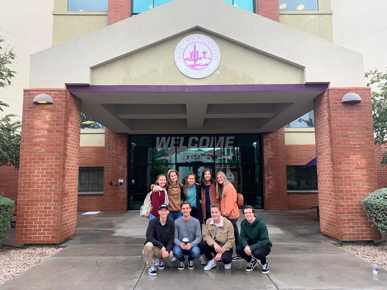Students Tour Grand Canyon University The Feather Online