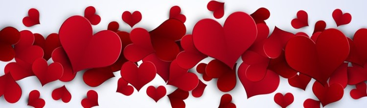 Romantic dinner Valentine's Day