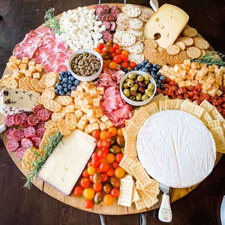 Charcuterie Tutorial New Year's Eve Feast