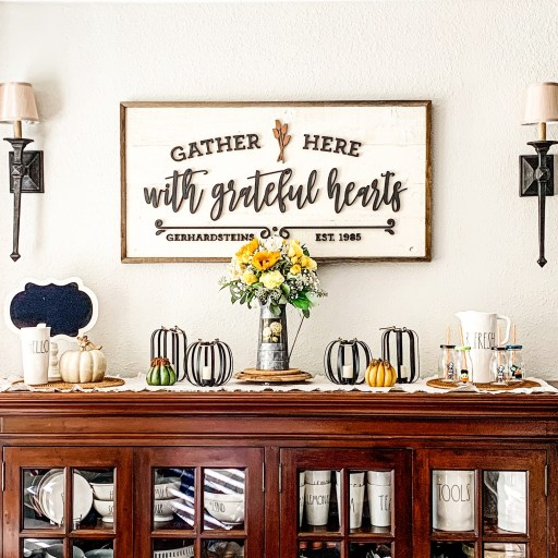 Home is more than a place you live. Make it a haven wby displaying special keepsakes and things you love.