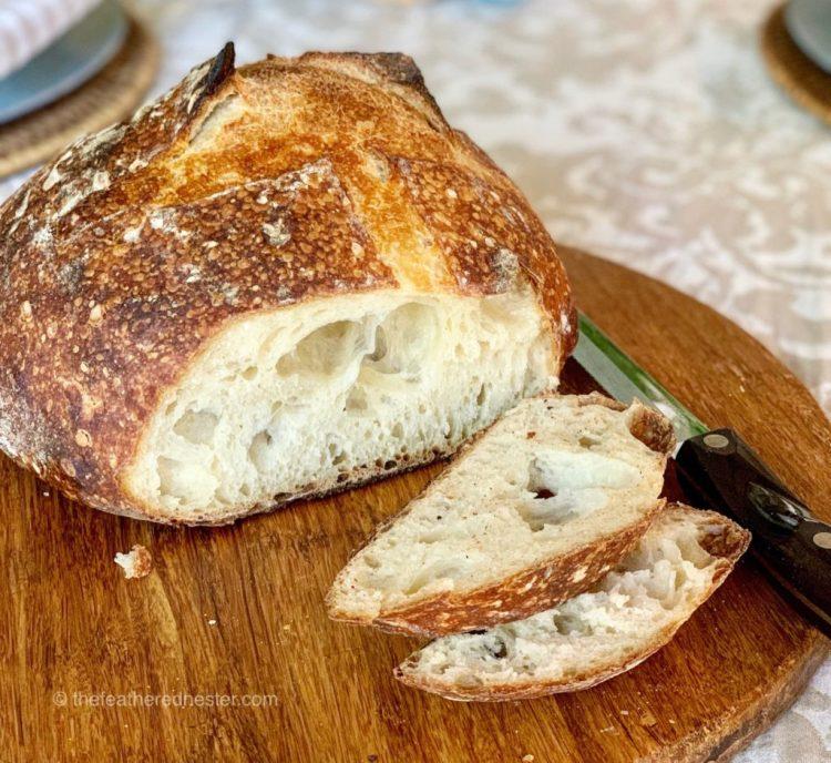 Sourdough bread sliced Sourdough recipe