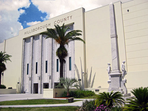 Hillsborough County Courthouse, Tampa Florida