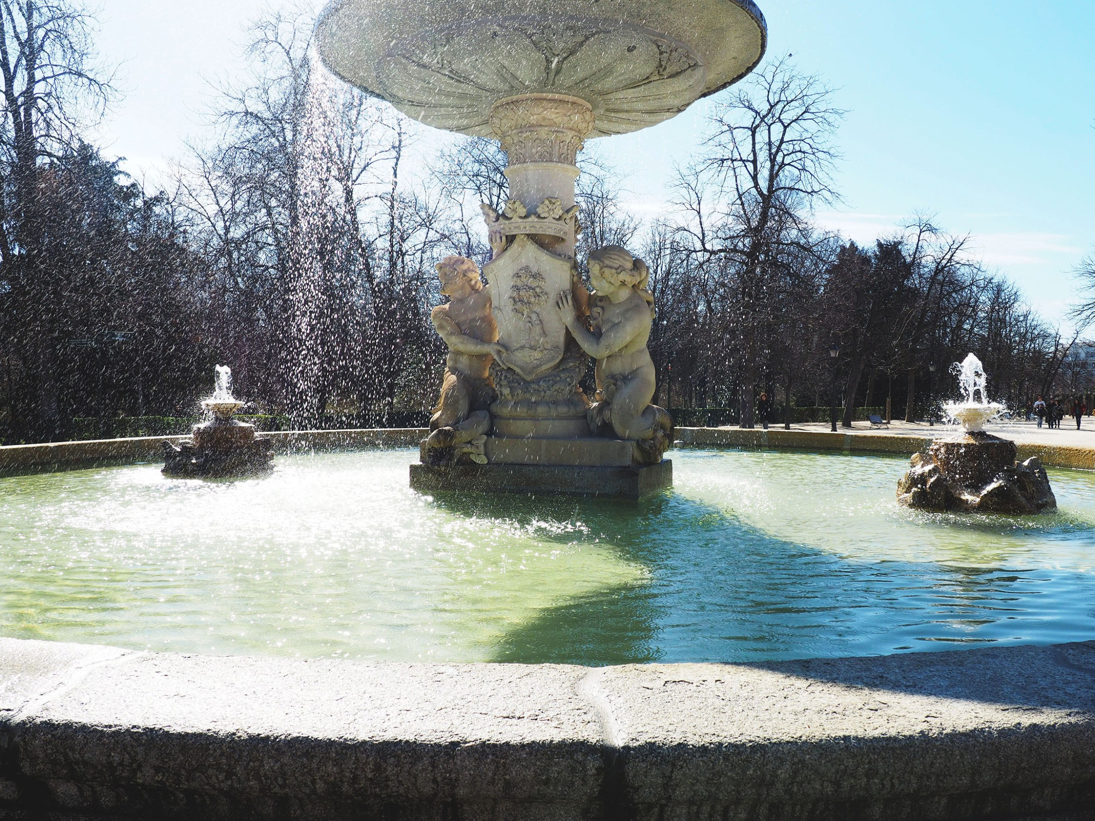 Buen Retiro Park And The Crystal Palace