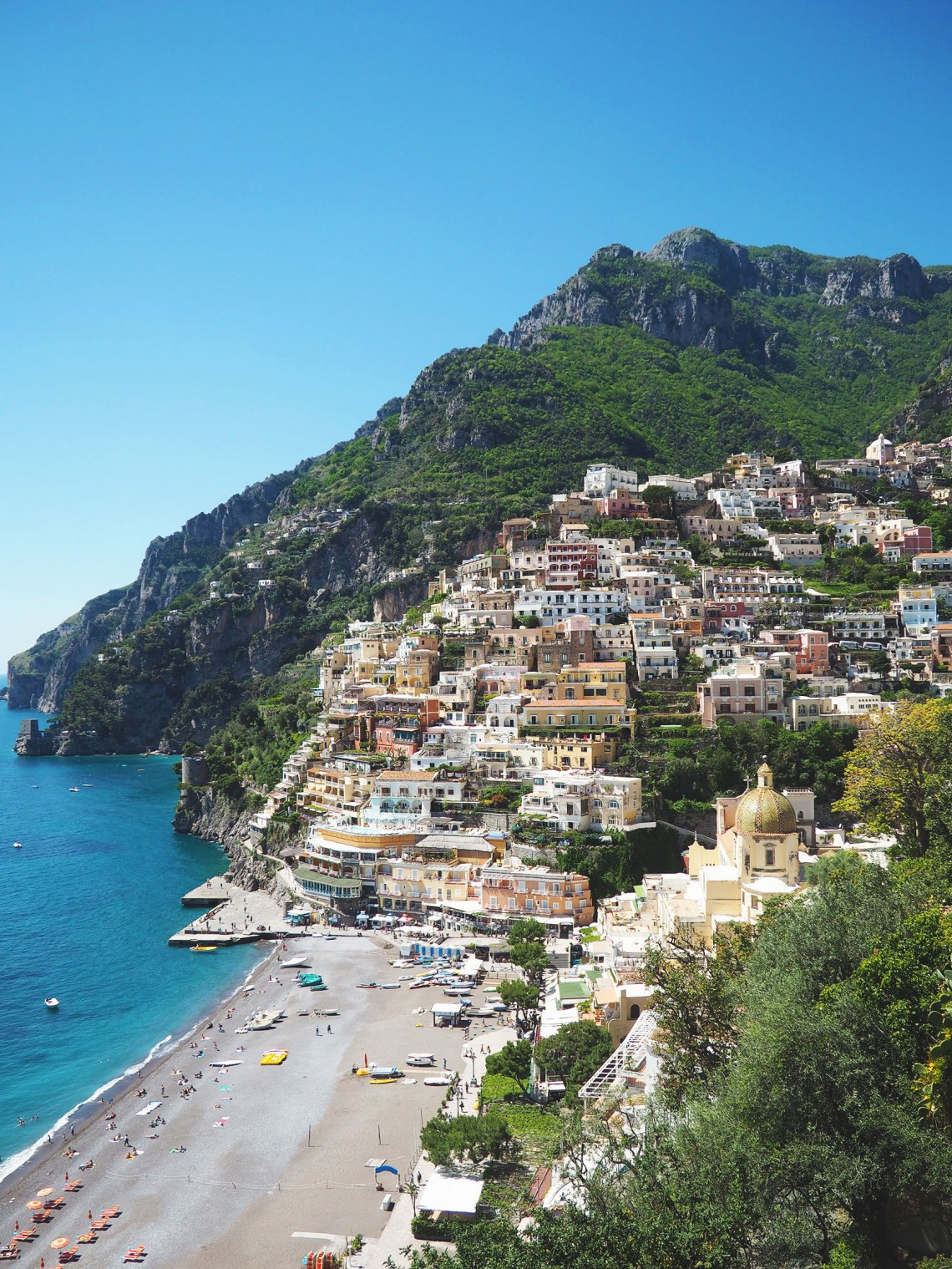 A Romantic Getaway in Positano
