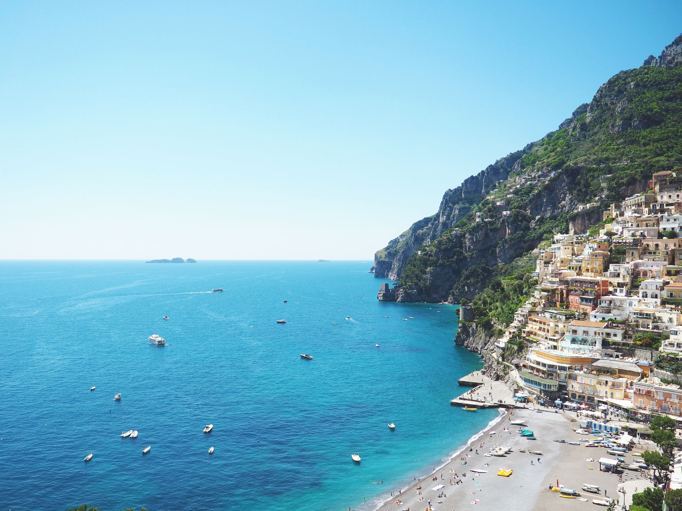 A Romantic Getaway In Positano