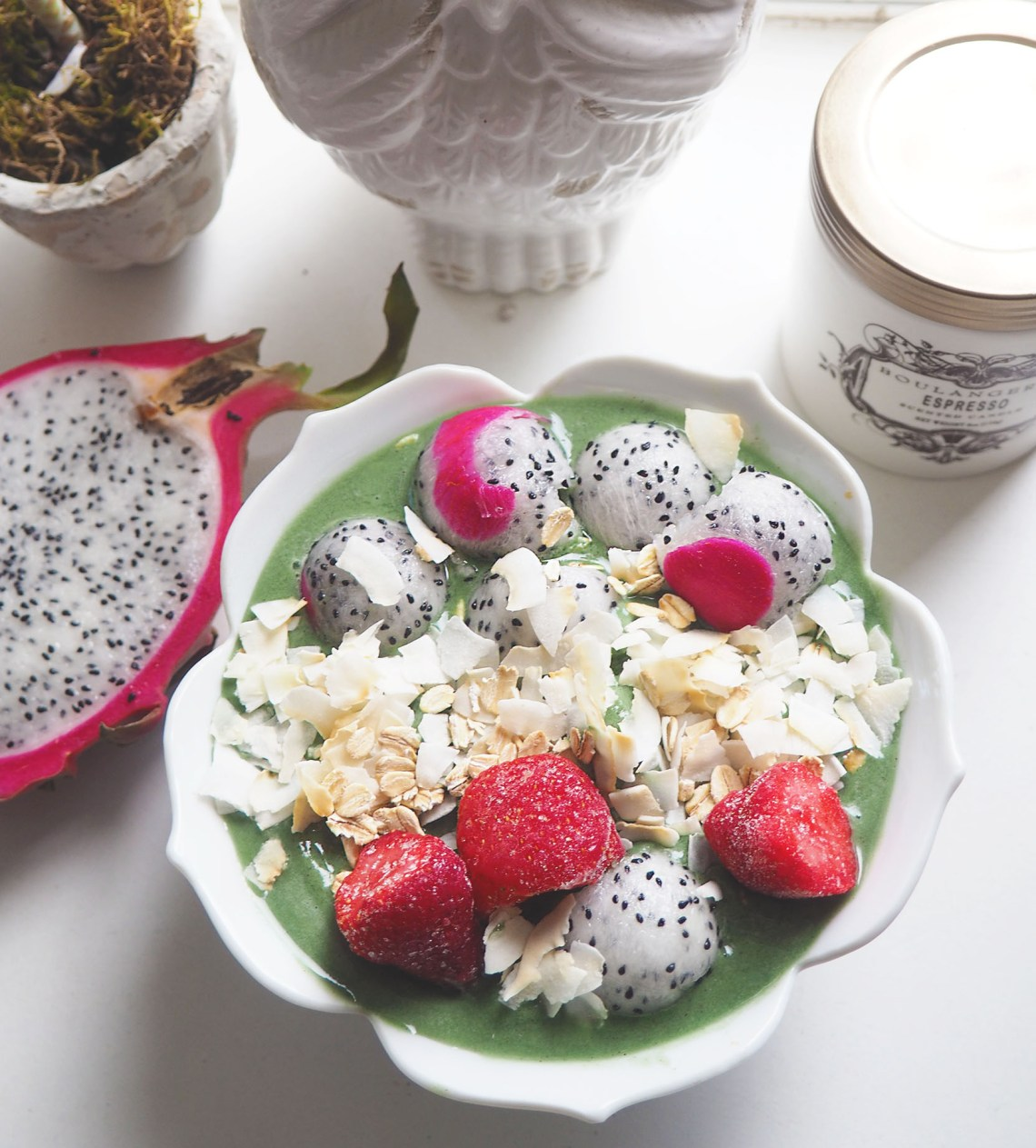 Mermaid Smoothie Bowl Inspired By Bali