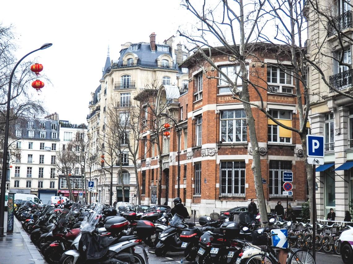 a weekend getaway to paris