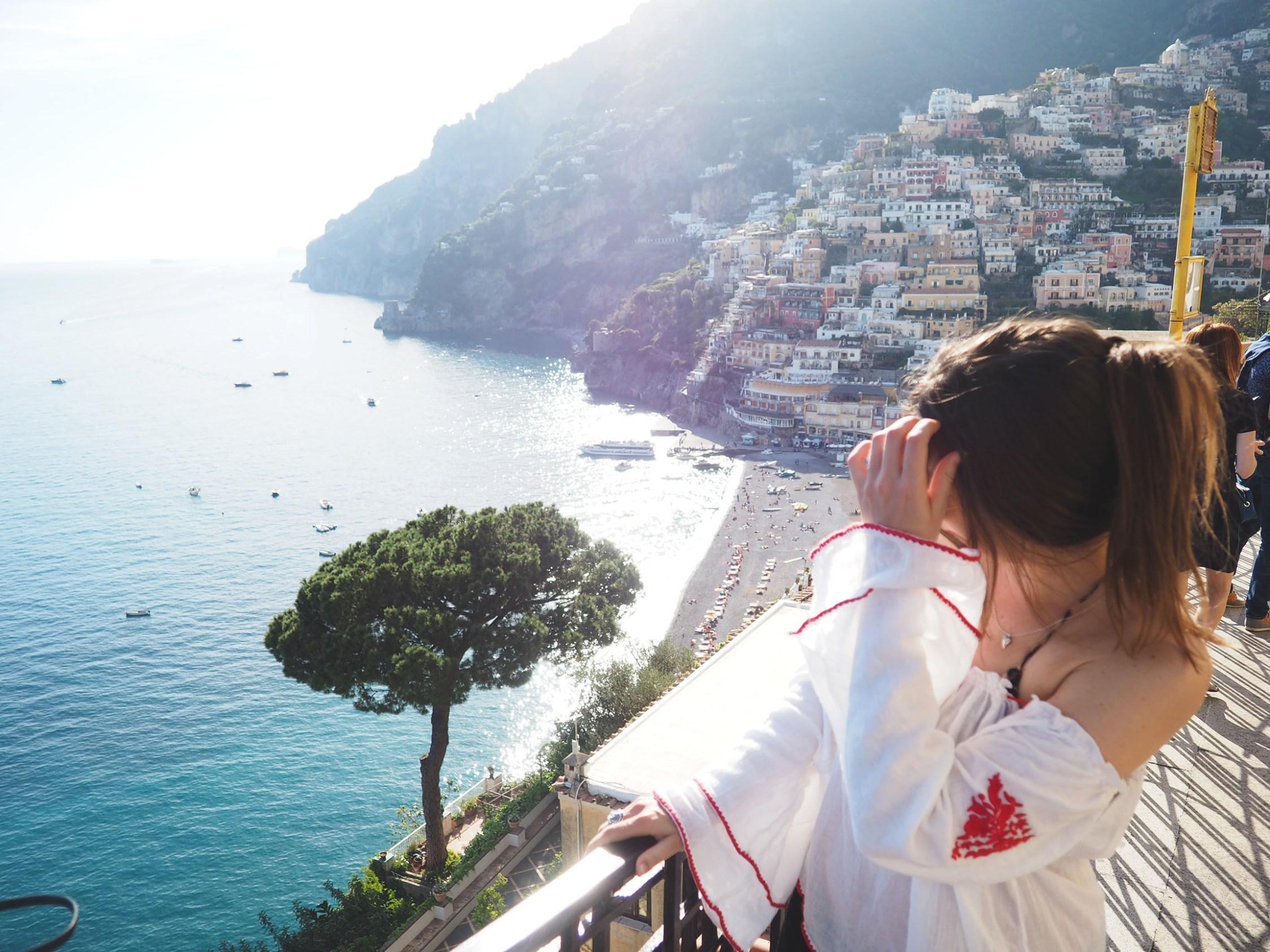 the em of the amalfi coast - positano