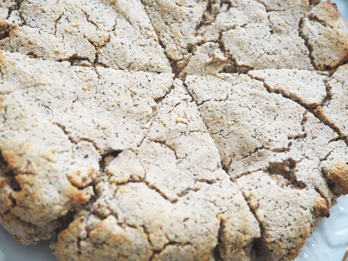 earl grey tea scone