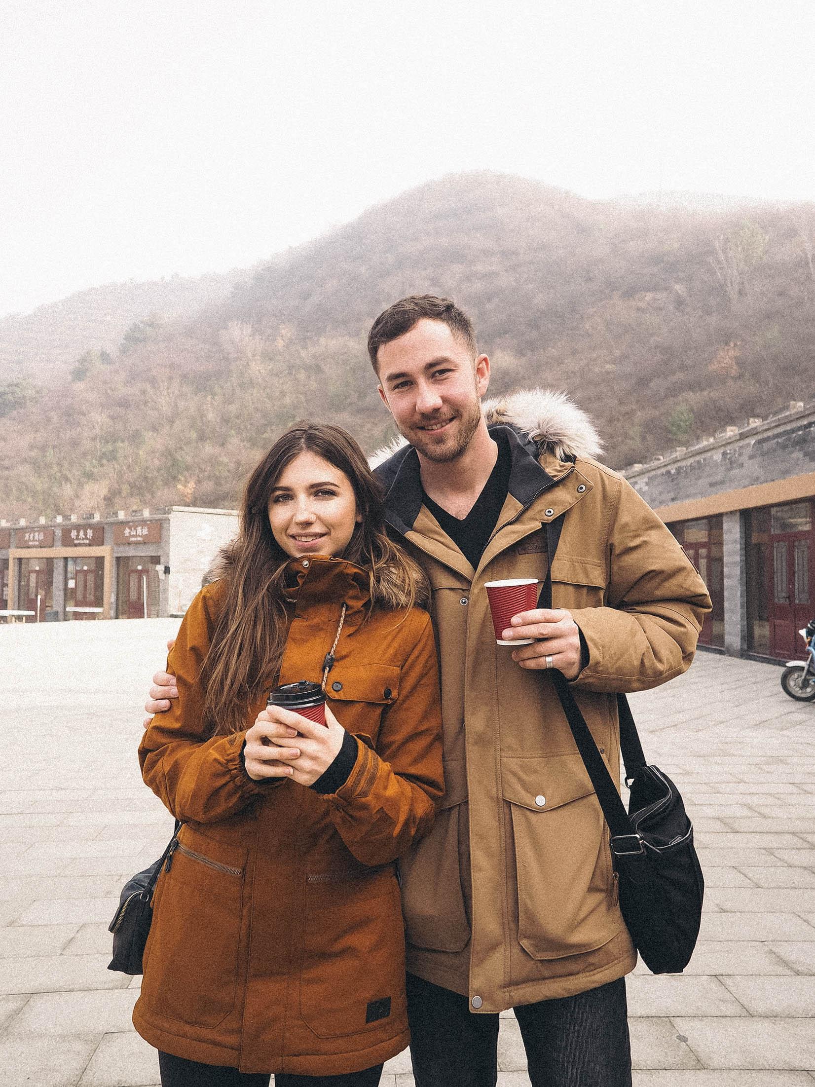 boyfriend Great Wall of china