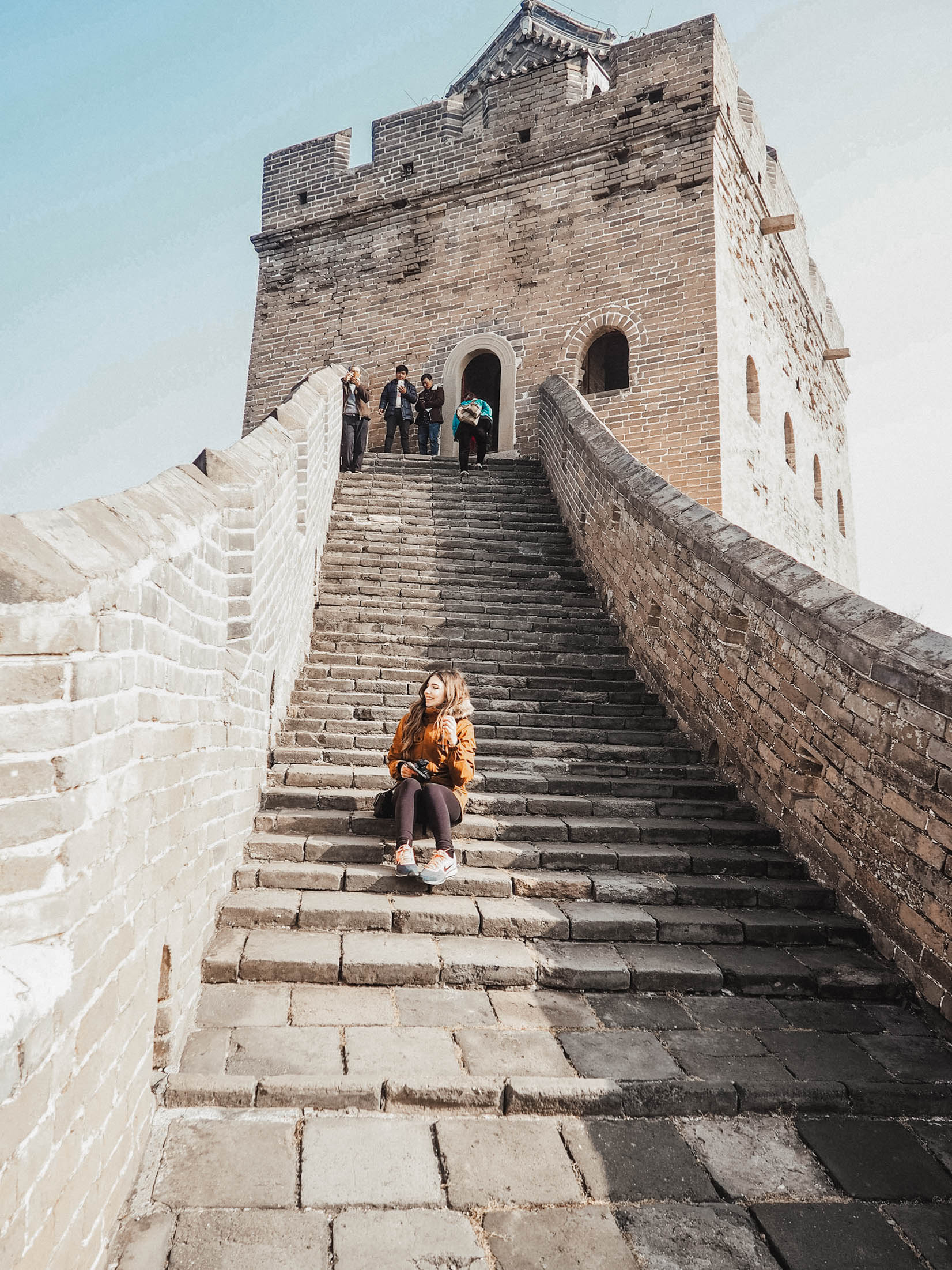 fernweh wolf Great Wall of china