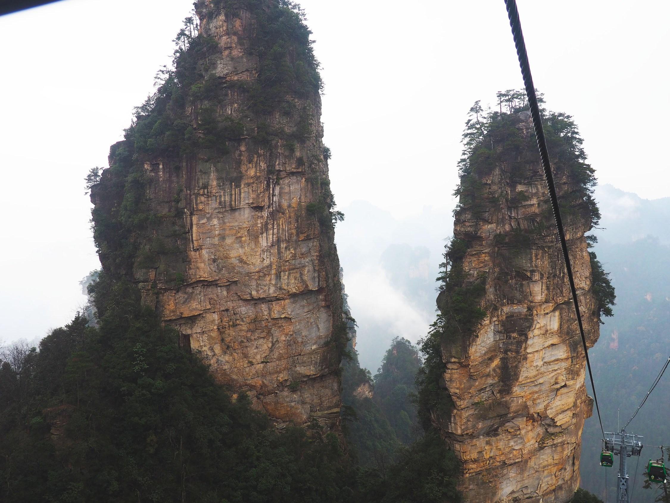 Exploring The Avatar Mountains In Zhangjiajie Part 1