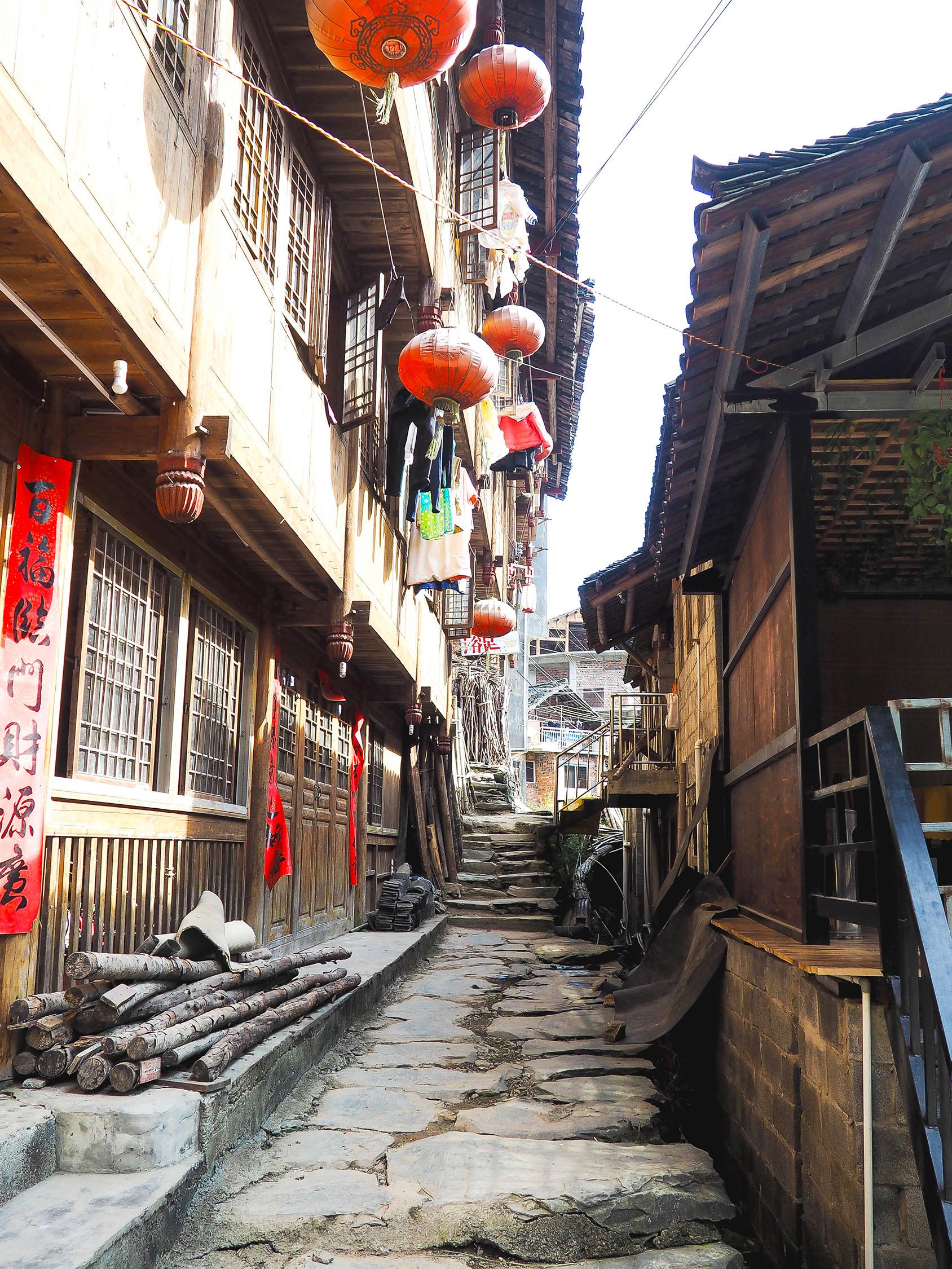 visiting the longsheng rice terraces